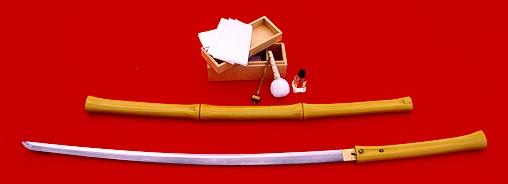 Катана, самурайский меч